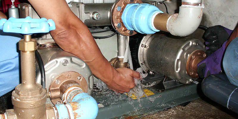 【神奈川県三浦市】給水ポンプユニットの交換工事