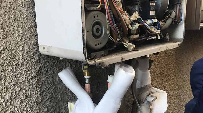 【横浜市保土ヶ谷区】リンナイ製給湯器の交換工事