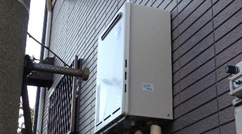 [神奈川県横須賀市]戸建てで給湯器の交換工事