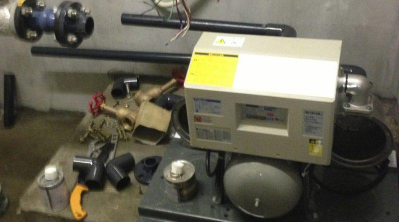 [さいたま市南区]給水ポンプユニットの交換工事