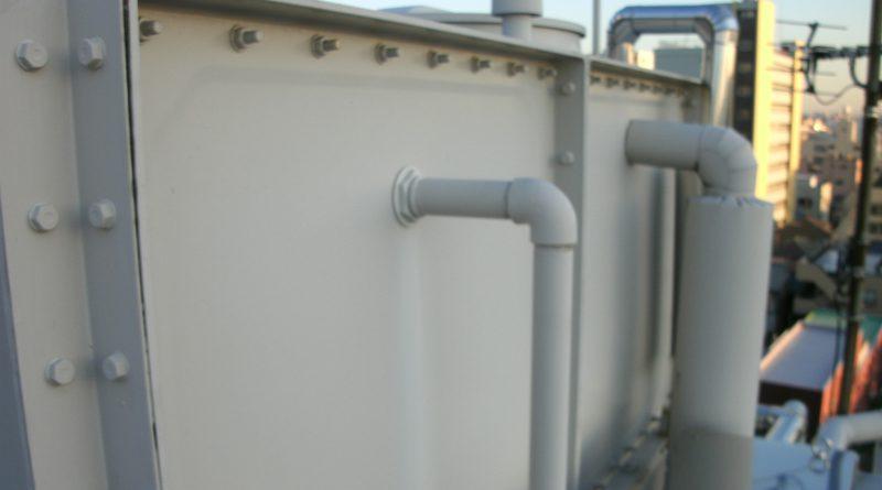 [横浜市鶴見区]貯水槽の清掃作業