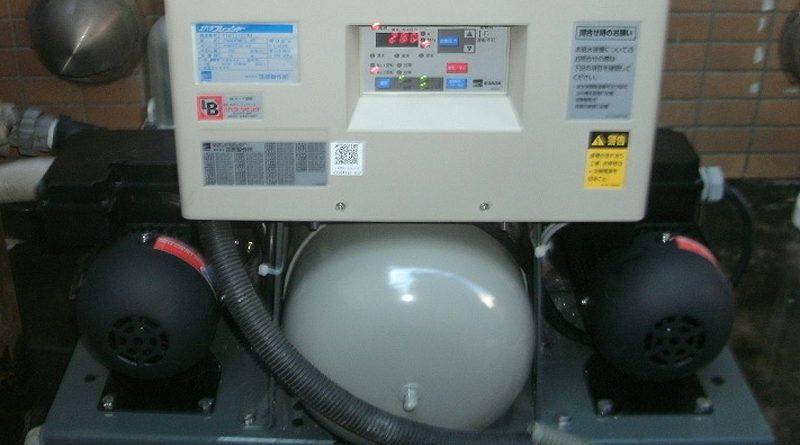 [川崎市幸区]給水ポンプユニットの交換工事
