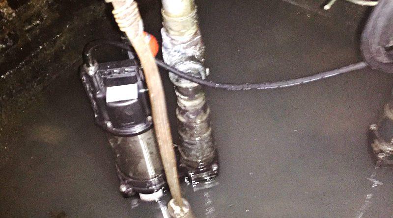 [東京都渋谷区]汚水雑排水の排水ポンプの交換