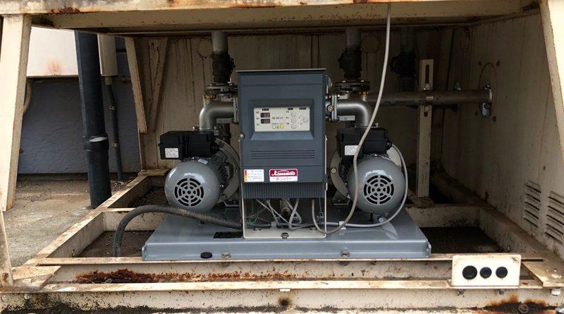 [神奈川県南足柄市]給水ポンプユニットの交換工事