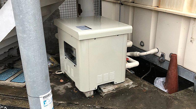 [川崎市宮前区]給水ポンプユニットの交換工事
