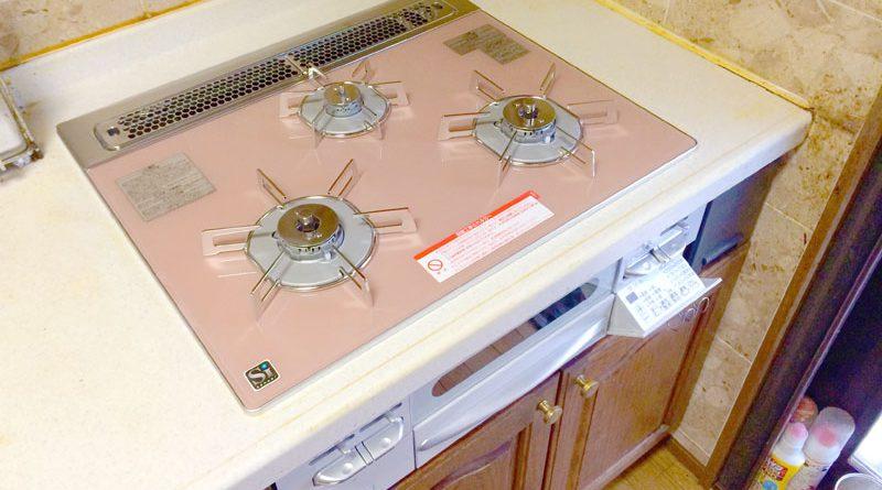 [東京都国分寺]給湯器とビルトインガスコンロの交換工事