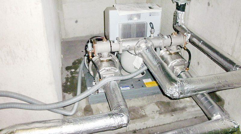 [横浜市磯子区]給水ポンプユニットの交換工事[50BIRME53.7A]