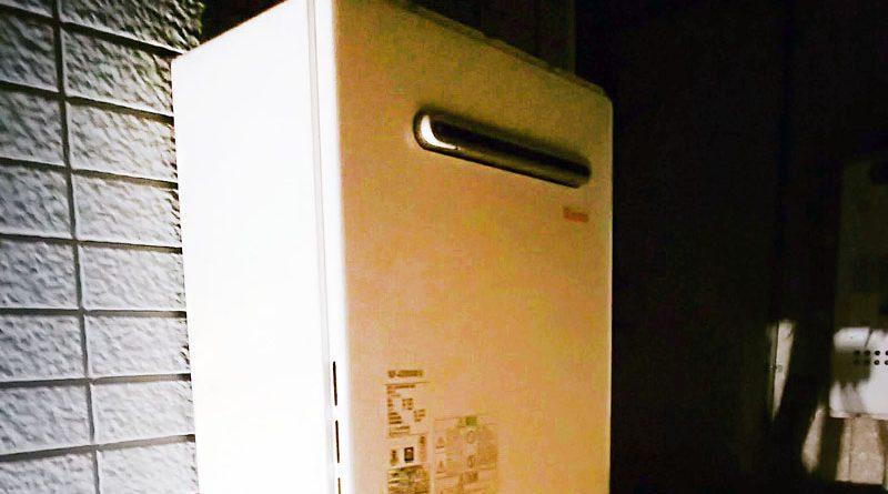 [埼玉県川越市] 給湯器の交換工事