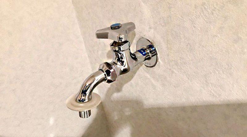 [千葉県習志野市]洗濯機用の水栓交換