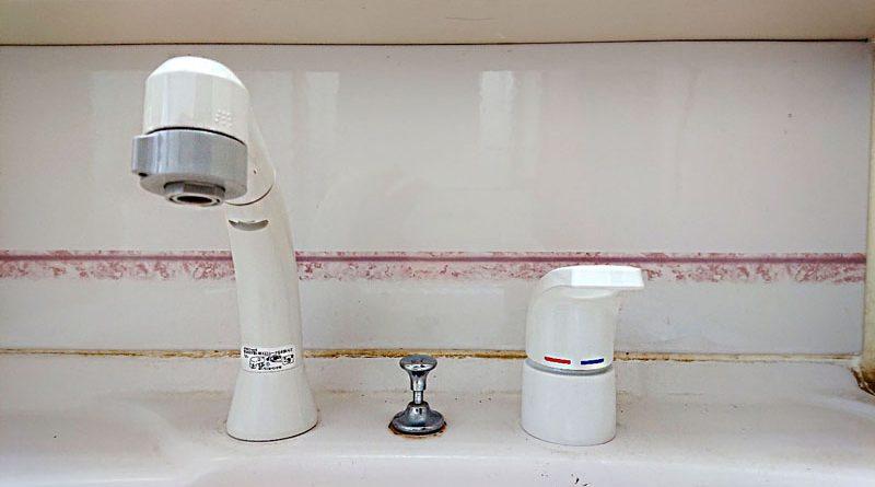 [埼玉県白岡市]洗面台の水栓交換工事