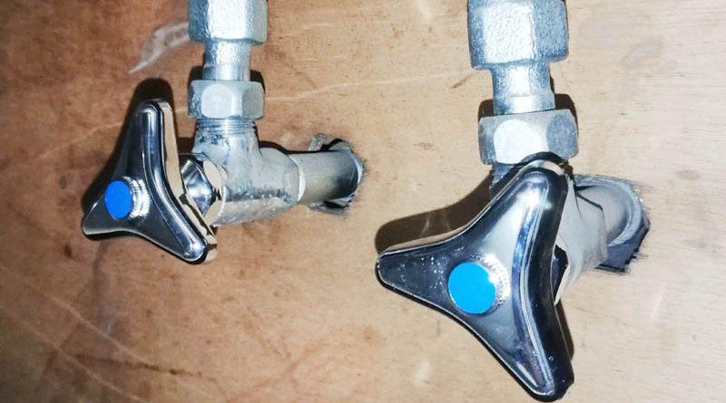 [埼玉県東松山市]台所の止水栓の漏水修理