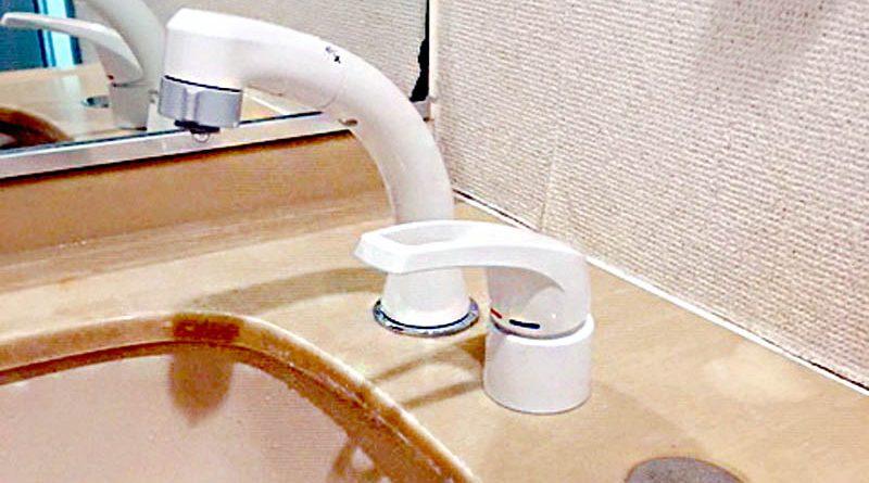 [神奈川県大和市]洗面台の混合水栓交換施工