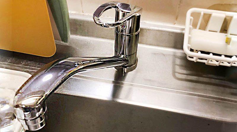[埼玉県日高市]キッチンのシングルレバー水栓交換
