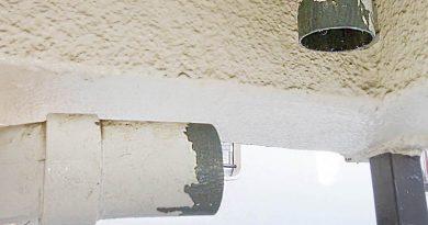 [神奈川県鎌倉市]ベランダの排水管の漏水修理