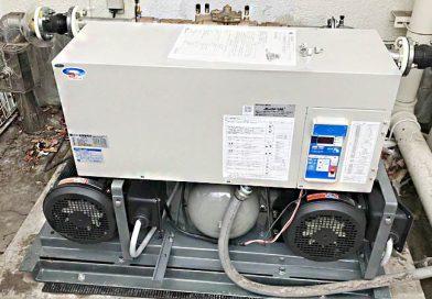 [東京都中野区]増圧給水ポンプユニットの交換工事